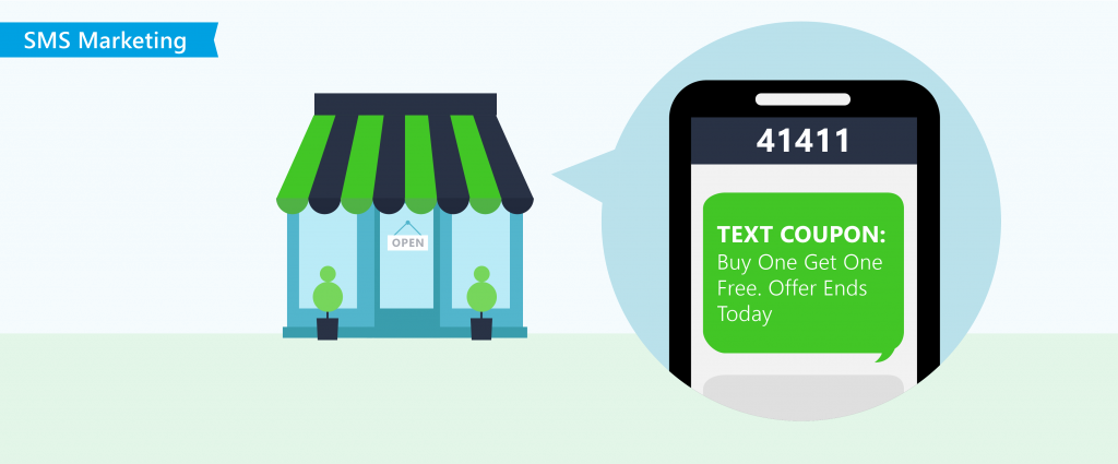 text message for your sms campaign