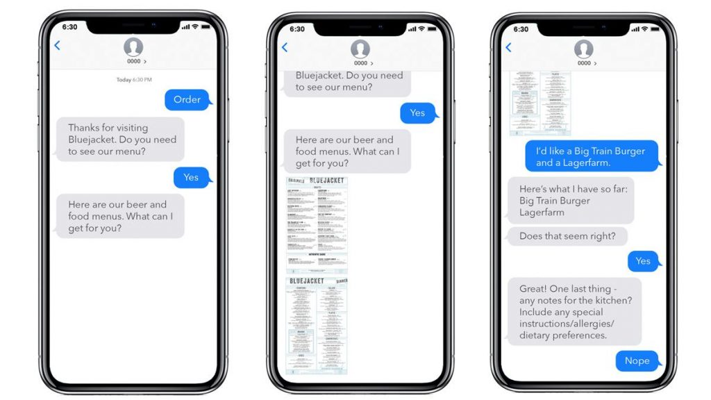 conversational ai messaging