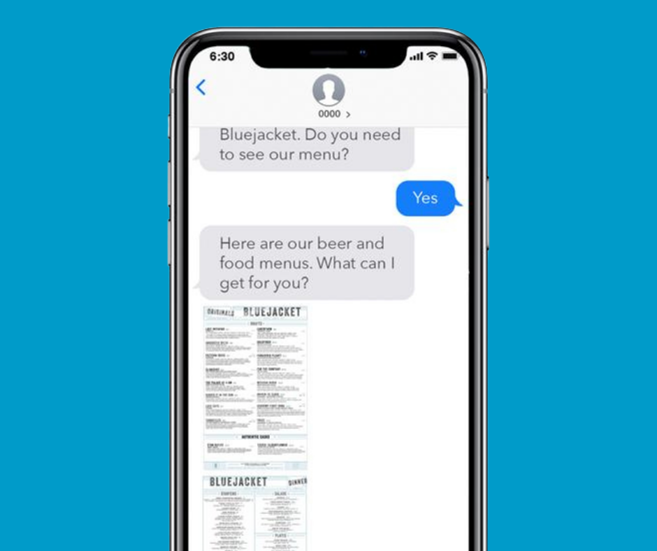 conversational text messaging